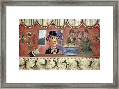 Envy And Surprise Framed Print by Pegeen  Shean