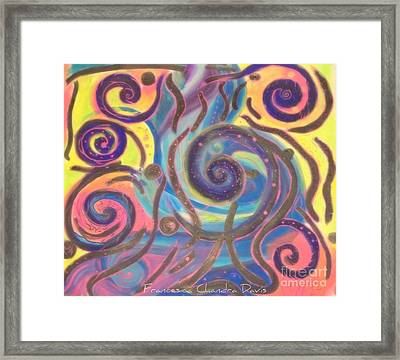 Envy Is A Dark Trap Framed Print by Sacred  Muse