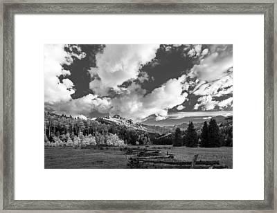 Envy Of Colorado Framed Print