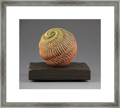 Eolith In My Garden Framed Print