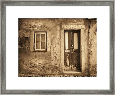 Eos Cottage Framed Print