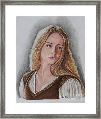 Eowyn Framed Print