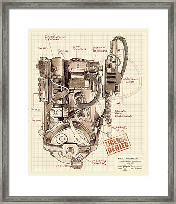Epa Application #012938rt34 Framed Print by Kurt Ramschissel