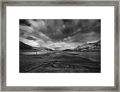 Ephemeral Desert Framed Print