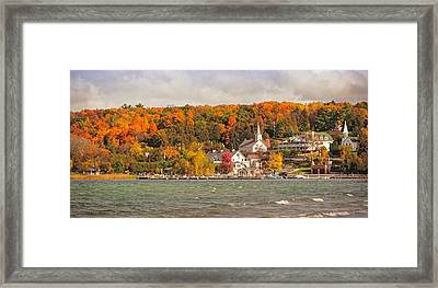 Ephraim Wisconsin In Door County Framed Print by Heidi Hermes