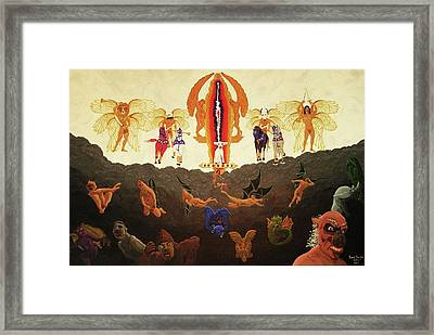Epic - In The Valley Of Megiddo Framed Print