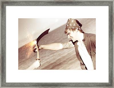 Epic Battle Framed Print by Jorgo Photography - Wall Art Gallery