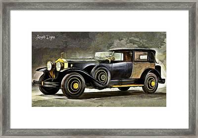 Epic Car - Da Framed Print