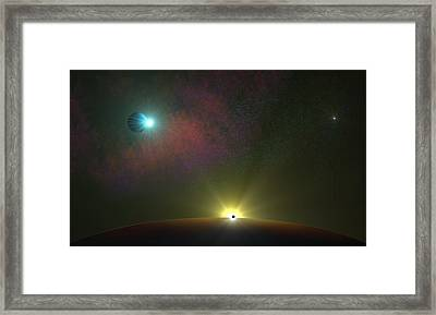 Epic Journey Framed Print by Ricky Haug
