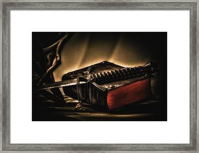 Epic Tale Framed Print