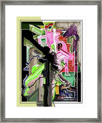 Epicenter Three-eleven Framed Print