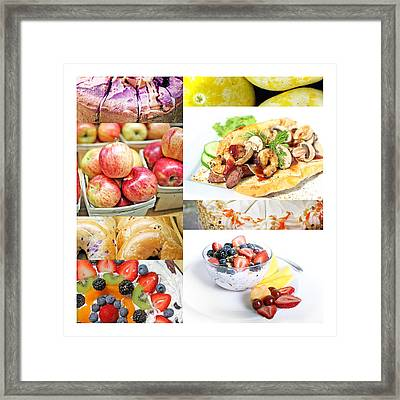 Epicurean 1 Framed Print by M Urbanski