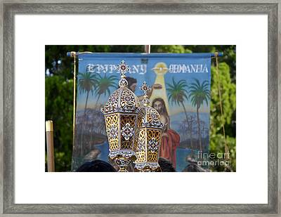 Epiphany Celebration Framed Print