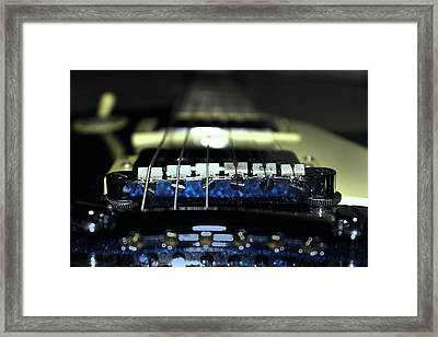 Epiphone Les Paul Guitar Framed Print by Martin Newman
