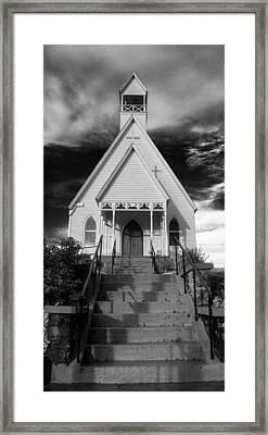 Episcopal Church In Murphy North Carolina Framed Print