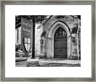 Episcopal Church Of The Heavenly Rest #2 Framed Print by Stephen Stookey