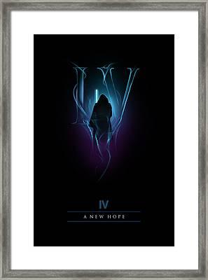 Episode Iv Framed Print
