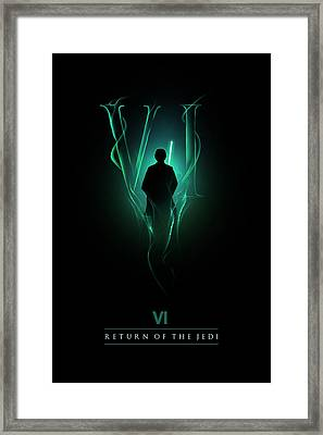 Episode Vi Framed Print by Alyn Spiller