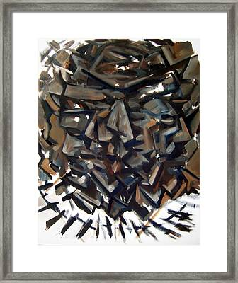 Epistrophy Process One Framed Print by Martel Chapman