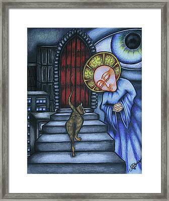 Epitaph For Ginger Framed Print by Maryska Torresowa