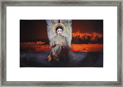 Epitaph Framed Print by Reinhardt Sobye