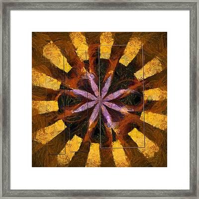 Epitomical Entity Flowers  Id 16164-025646-12861 Framed Print
