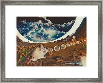 Equasia- II. Framed Print