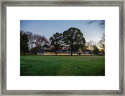 Equestrian Stable Erdenheim Farm - Whitemarsh Pa Framed Print by Bill Cannon