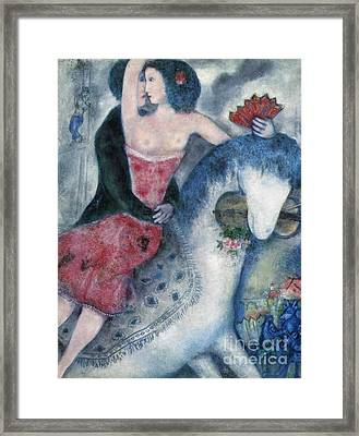 Equestrienne 1931 Framed Print
