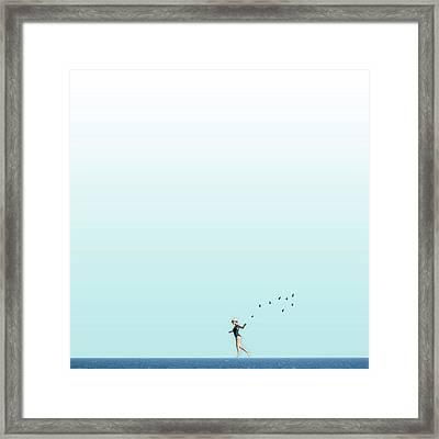 Equilibrio  Framed Print