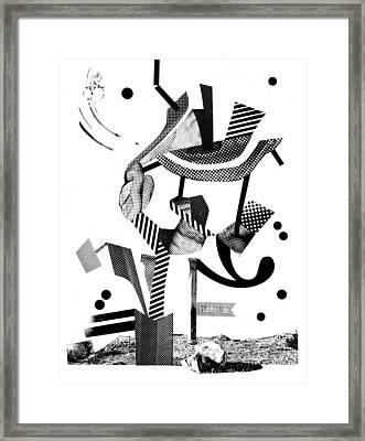 Equilibrium #4 Framed Print