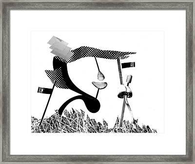 Equilibrium #5 Framed Print