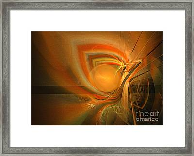 Equilibrium - Abstract Art Framed Print by Sipo Liimatainen