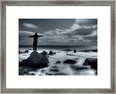 Equilibrium Framed Print by Corneanu Daniel