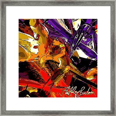 Equilibrium Malfunction  Framed Print