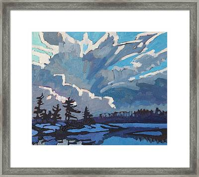 Equinox Cold Front Framed Print by Phil Chadwick