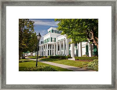 Equinox Inn Framed Print by Susan Cole Kelly