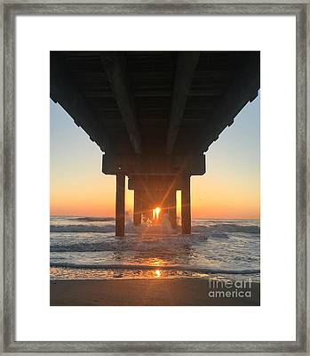 Equinox Line Up Framed Print