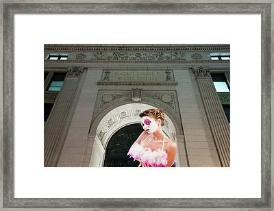 Equitable Building Framed Print