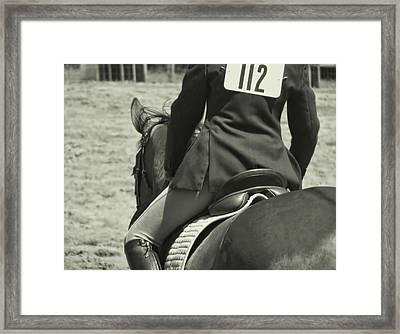 Equitation Framed Print by JAMART Photography