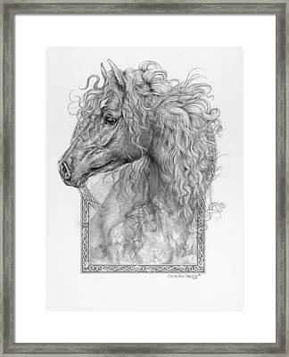 Equus Caballus - Horse - The Divine Gift Framed Print