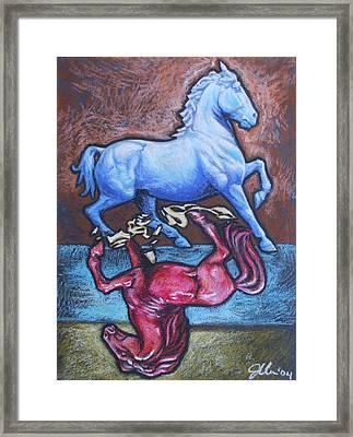 Equus Framed Print by Jennifer Bonset