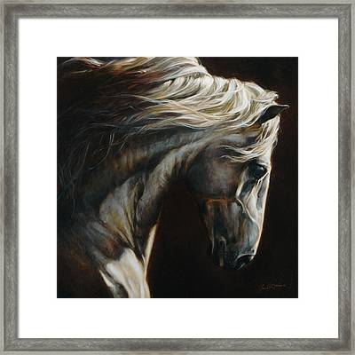 Equus Series I-iii Framed Print by Heather Theurer