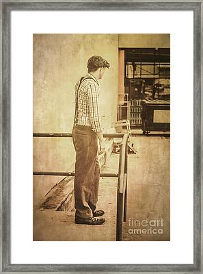 Era Of Industry Framed Print by Jorgo Photography - Wall Art Gallery