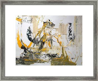Erasure Framed Print
