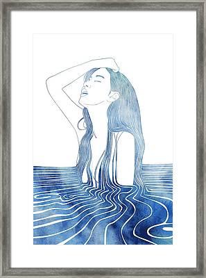 Erato Framed Print