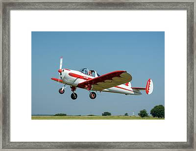 Ercoupe Framed Print by James Barber