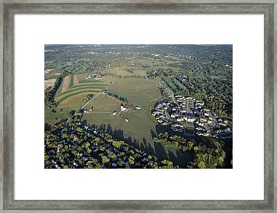 Erdenheim Farm 5051 Flourtown Road Lafayette Hill Pa 19444 1009 Framed Print by Duncan Pearson