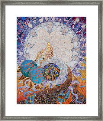 Erdenora Framed Print by Ellie Perla