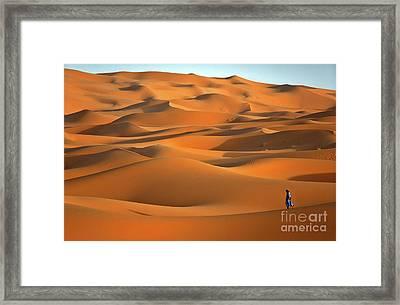 Erg Chebbi Desert Framed Print by Henk Meijer Photography
